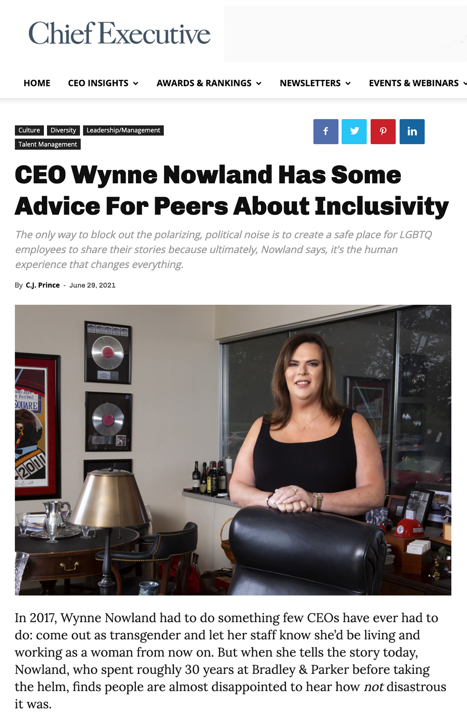 chief-executive-publishes-feature-article-on-ceo-wynne-nowland